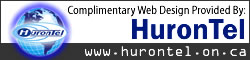 Complimentary Webspace Provided By HuronTel
